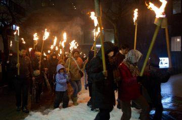 宇奈月温泉 雪のカーニバル