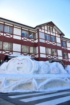 雪像(黒部峡谷鉄道)