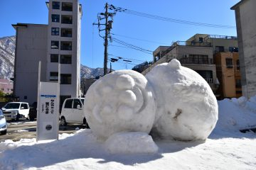 雪像(延対寺荘)