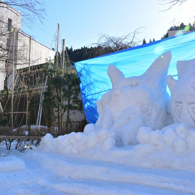 雪像(関西電力)