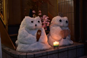 雪像(柏や)