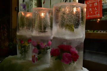氷の灯籠(福多屋) (2)