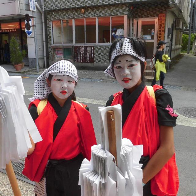 宇奈月温泉秋祭り