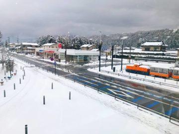 黒部宇奈月温泉駅2019.1.25の2
