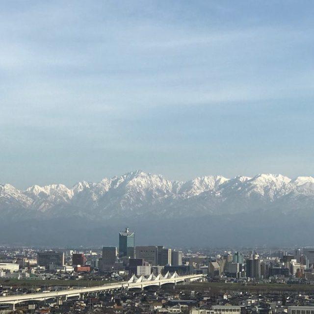 立山連峰2018.12.28の1