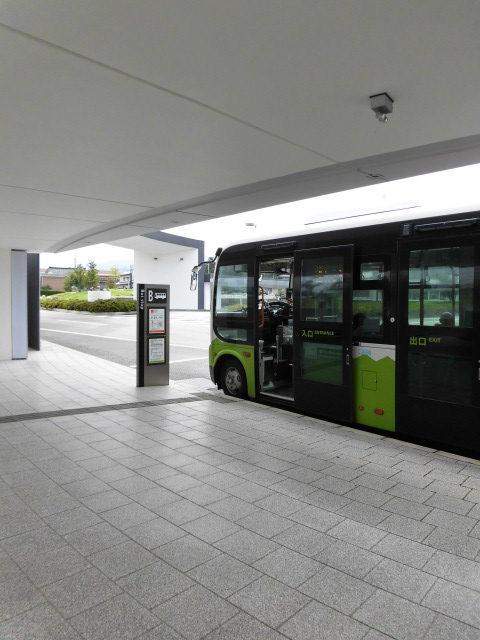 新幹線生地線,黒部宇奈月温泉駅のりば