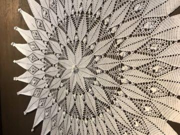北洋の館 レース編み展3
