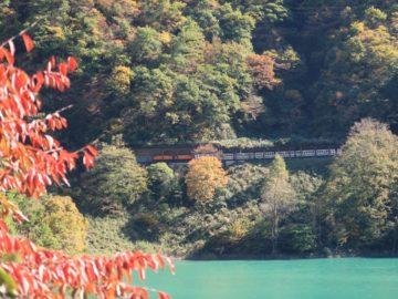 宇奈月温泉紅葉ダム2