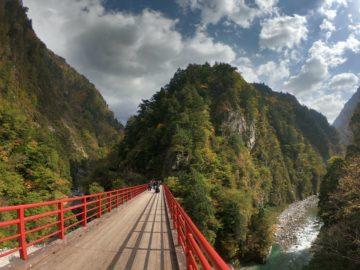 紅葉の黒部峡谷2