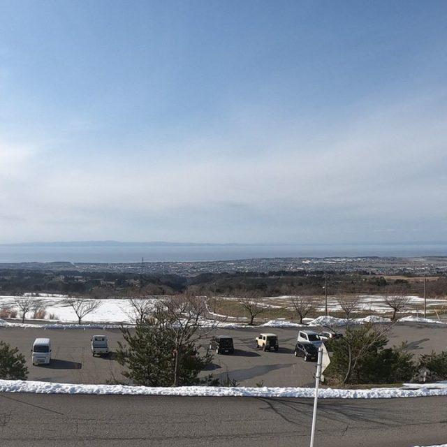 くろべ牧場からの風景