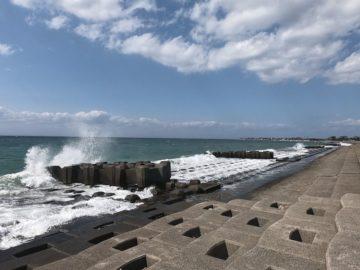 石田浜風景3月 その3