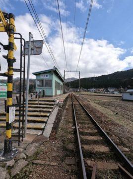 地鉄下立駅ホーム