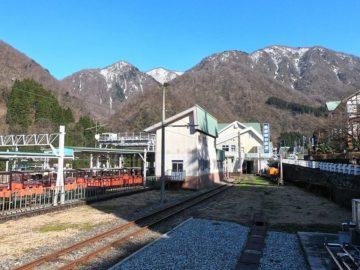 黒部峡谷鉄道3月風景2