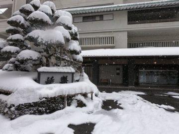 雪景色の延楽