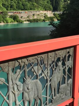 宇奈月ダム 6月